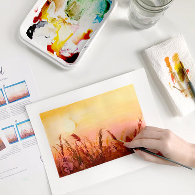 Wheatfield Watercolor Kit