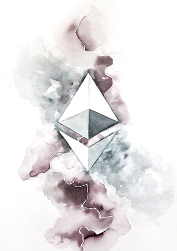 Ethereum limited edition print