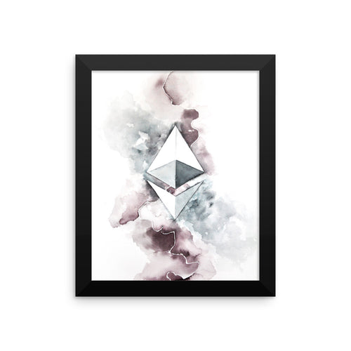 Ethereum watercolour