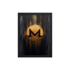 Monero Burnt Gold