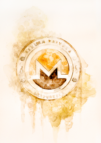 Monero limited edition print