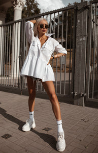 MARILYN TUNIC SHIRT -AnnaFoxyCanada