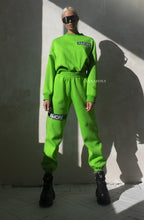 AMORE OVERSIZE SUITS NEON GREEN COSTUME -AnnaFoxyCanada