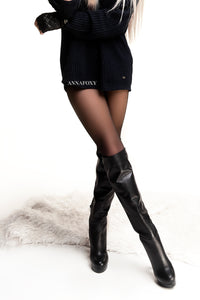 OVER THE KNEE BLACK BOOTS OVER THE KNEE BOOTS -AnnaFoxyCanada