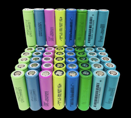 Tested 18650 Lithium Ion Cells