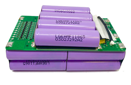 Lithium Ion Assembled Battery Modules