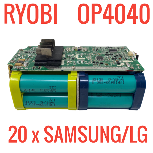 Ryobi OP4040 36V Batteries for Parts and Repair