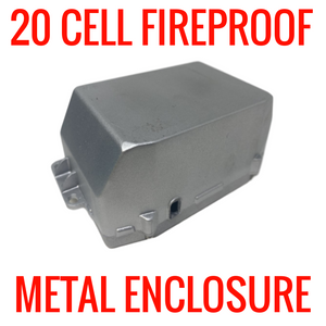 20 Cell Metal Fireproof Enclosure