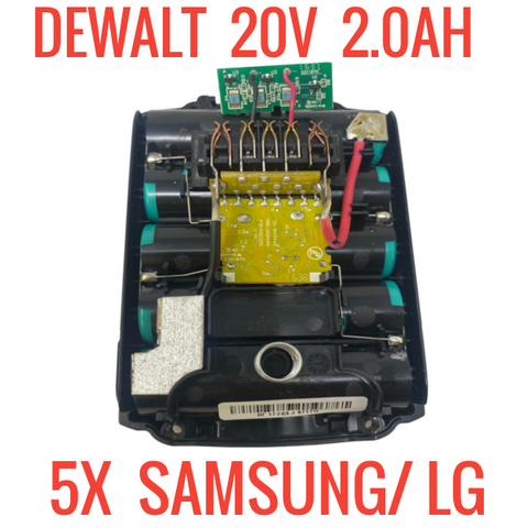 DEWALT DCB203 20V 2.0 AH 40WH for PARTS/REPAIR