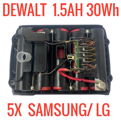 DEWALT DCB201 20V 1.5 AH 30WH for PARTS/REPAIR