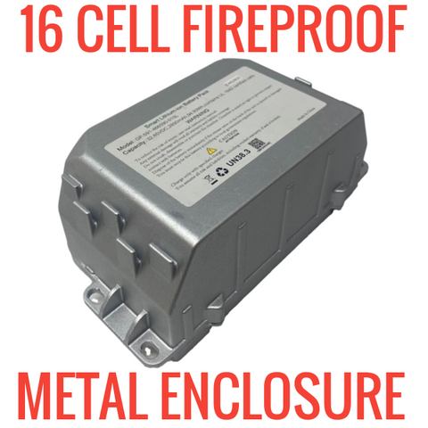 16 Cell Metal Fireproof Enclosure