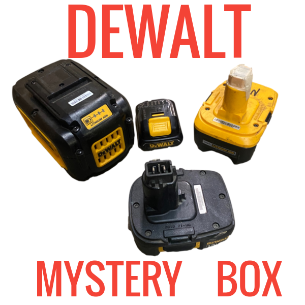 DEWALT MYSTERY BOX!  20 FOR $20 - CHEAP AS BALLS BOX #1