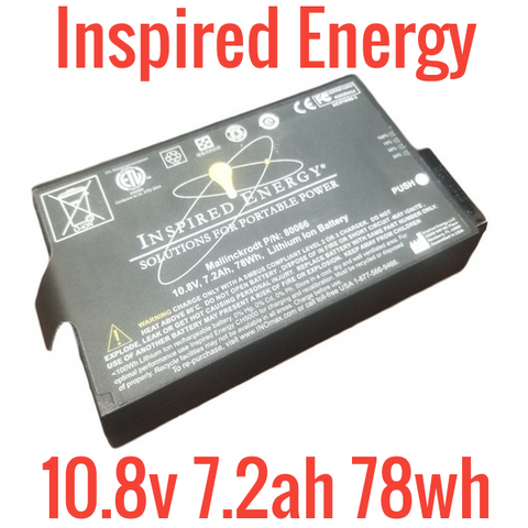 Inspired Energy 10.8v 7.2ah Battery Pack with BMS