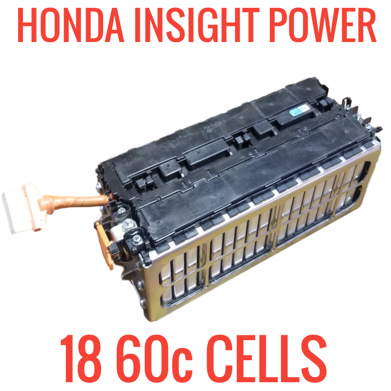 DISCHARGED - 18x POWER CELLS! HONDA INSIGHT 352wh