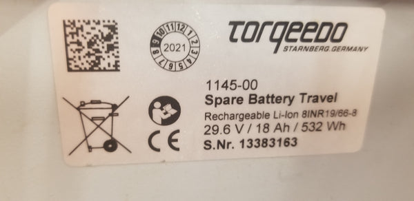 Torqeedo OEM 29.6v 8s 916wh Module for salvage