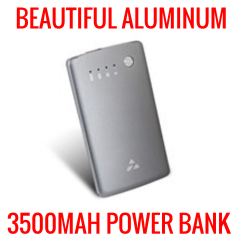NEW ULTRA THIN 3500MAH POWER BANK