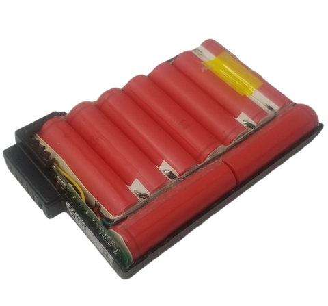 3s3p Module with 9 2600mah 87wh 18650 cells - DR202 Energy+