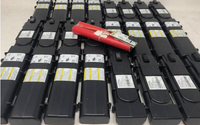 4 18650 2200MAH CELLS IN MODEM BATTERIES