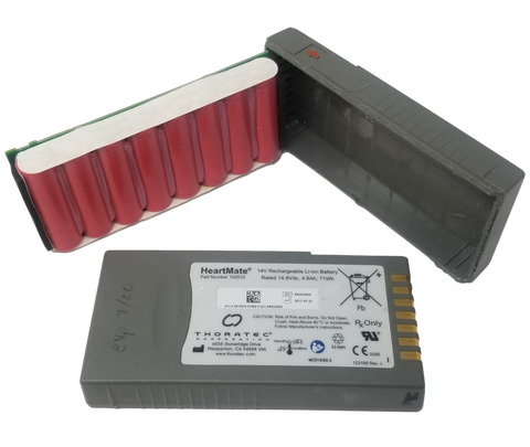 4s2p module with 8 Sanyo 2400mah 18650 cells - Heartmate