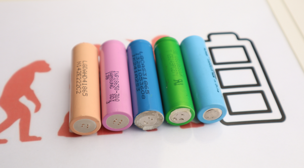 100 2401-2600mah Fully Tested 18650 Batteries Capacity Cells