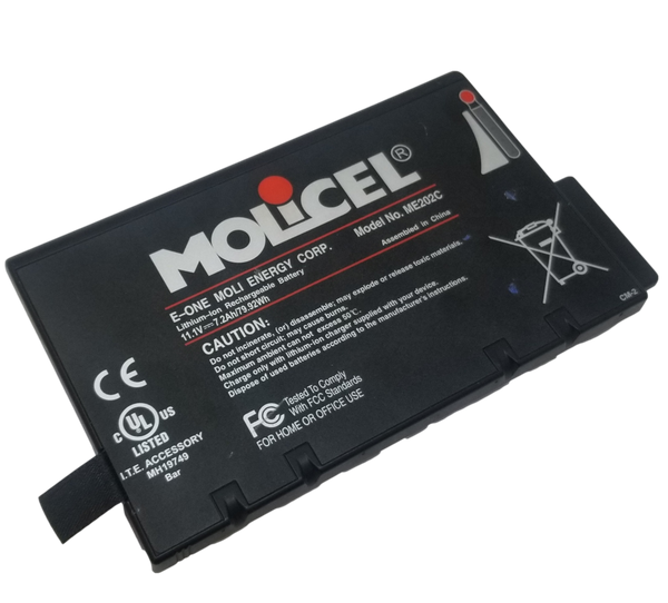 3s3p Molicel Module with 9 2400mah 18650 79.92wh