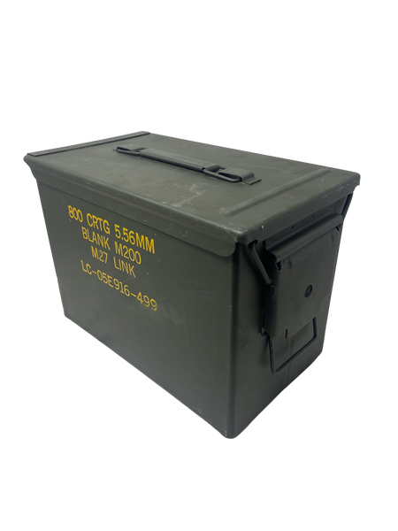 US Military Ammo Can Fireproof Enclosure