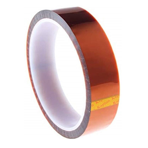 "Kapton heat tape 1"" wide or 2"" wide x 36 yards"