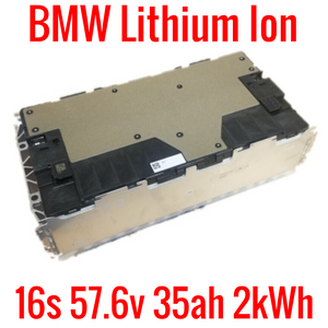 BMW OEM 16s 57.6v 35ah 2kWh MODULE - shelf a2