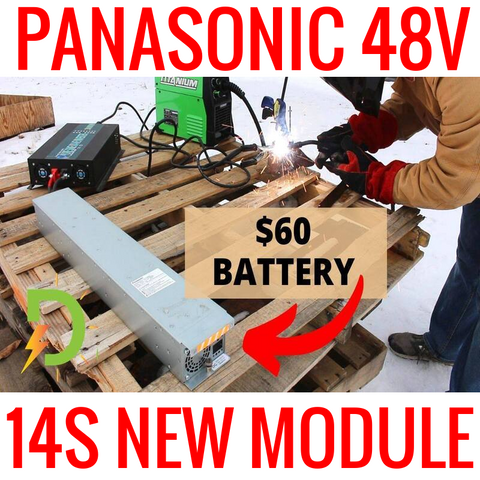 Brand New Panasonic 14s 48v 6.4ah