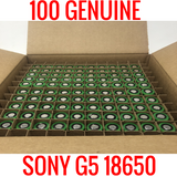 100 18650 Sony G5 2200 MAH Cells Capacity Tested 90% and up