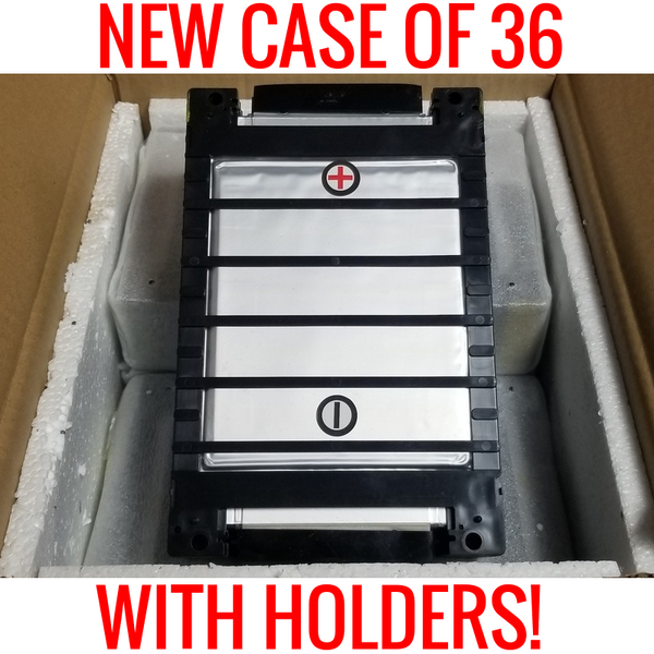 NEW CASE OF 36 SPIM08HP WITH HOLDERS