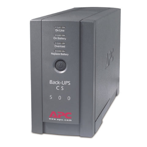 NEW APC Back-UPS 500 BK500BLK 120V