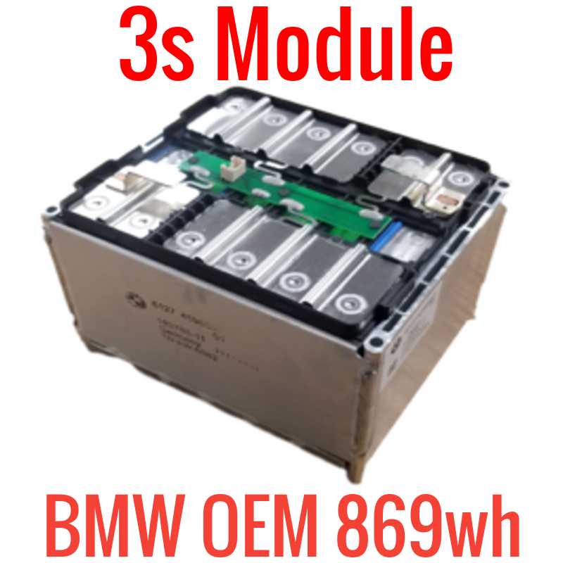 BMW OEM 3s 12v 75ah 869wh Battery Module