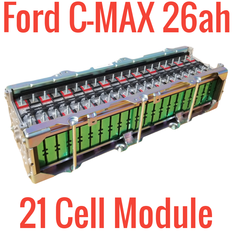 Dropped Ford C-Max 21 cell 26ah module - Module B-1