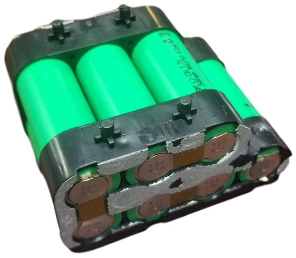 Salvage 7s 20650 2600mah module with Enclosure - Cheap As Balls