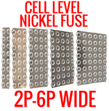 NICKEL FUSE 2P-6P WIDE CONTINUOUS ROLL BY THE FOOT! 18650 CELL LEVEL FUSING