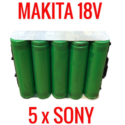 Makita BL1815 18v Batteries for Parts & Repair