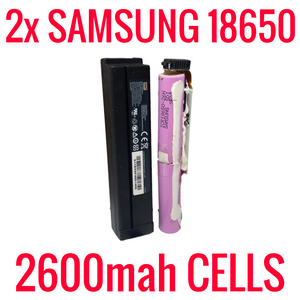 2 SAMSUNG 2600 MAH 18650 CELLS IN MODEMS