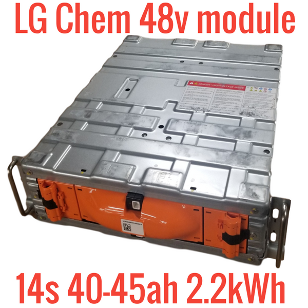 LG 14s 48v 2.2kWh LITHIUM ION MODULE