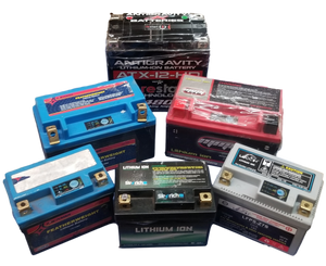 10 lbs of Mixed Powersports Lifepo4 batteries