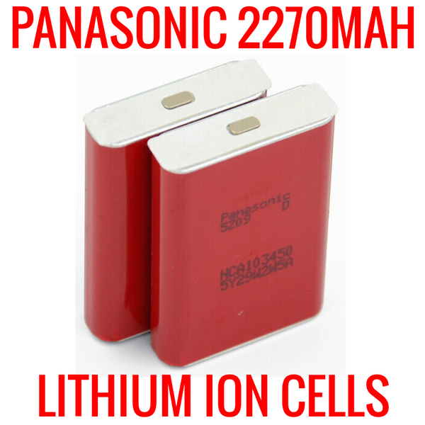 NEW PANASONIC 2270MAH NCA103450 WITH WRAPPER