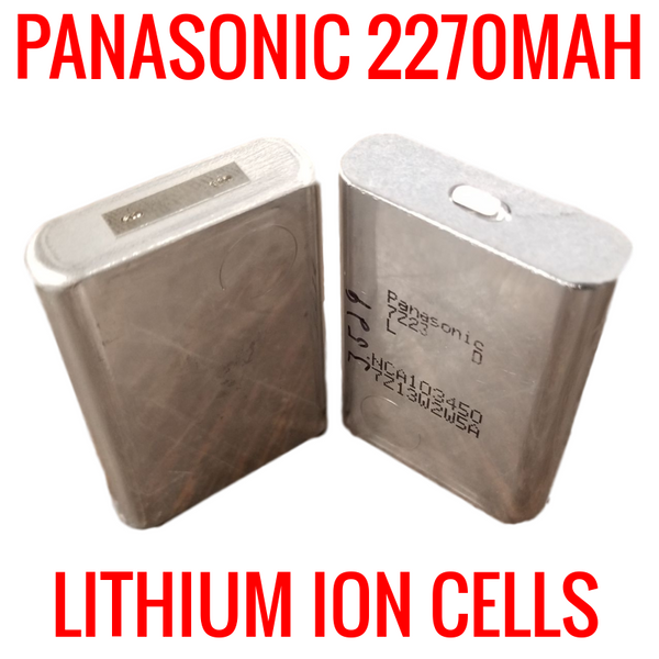 NEW PANASONIC 2270MAH NCA103450 NO WRAPPER