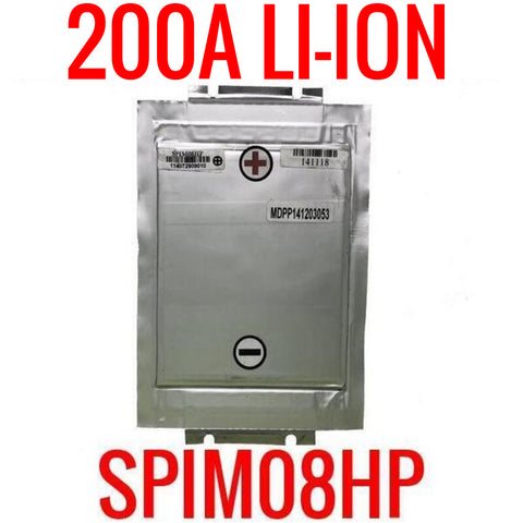 SPIM08HP 3.7v 8ah 200a LITHIUM ION POWER