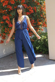 ALI NAVY JUMPSUIT