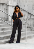 Chandler Pant Set- Black