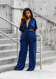 Chandler Pant Set- Blue
