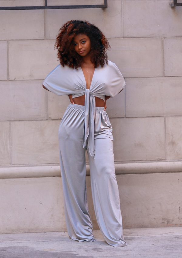 Chandler Grey Pant Set