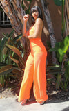 MIA BRIGHT ORANGE JUMPSUIT