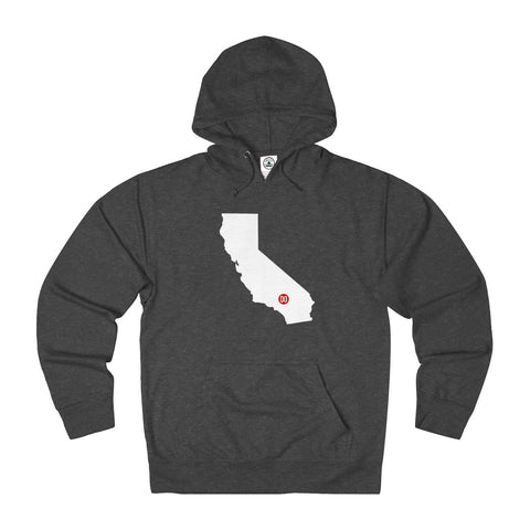 The DO California Unisex French Terry Hoodie