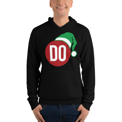 The DO Christmas elf slim-fit hoodie